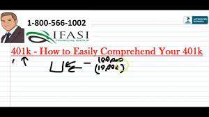 The Standard 401k - How to Prevent a standard 401k from feeling more like a  41k? - YouTube
