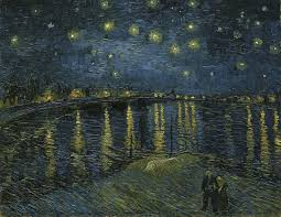 vincent van gogh starry night over the rhone 1888 musée d orsay paris