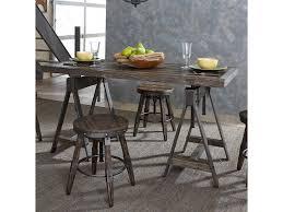 O Liberty Furniture PinevilleAdjustable Height Rectangular Table
