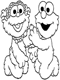 Small Picture sesame street coloring pages cute elmo face coloring page sesame