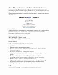 Libreoffice Resume Template Gorgeous Resume Template Libreoffice Unique Work And Employment Templates