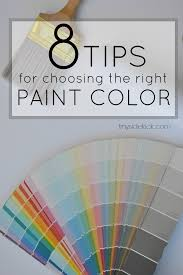 choosing paint colors. Tips For Choosing The Right Paint Color - Great Series To Understand And Knowledge Colors E