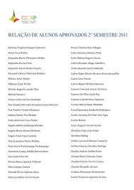 2011-2 relacao de alunos aprovados