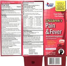 Childrens Pain And Fever Liquid Aptapharma Inc
