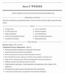Sample Resume Of Data Entry Clerk Resume Sample