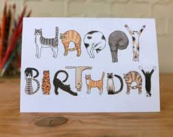 Birthday cards cats ~ Birthday cards cats ~ Some interesting ideas of handmade cats design cards