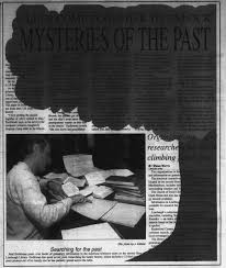 Clues come together to unlock mysteries of the past - Newspapers.com