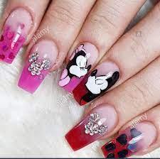 195 Minnie Mouse Nail Art Designs – Body Art Guru