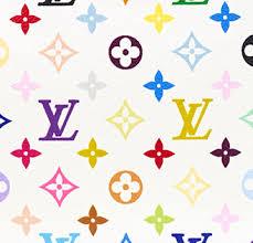 louis vuitton logo. louis vuitton white multicolor logo