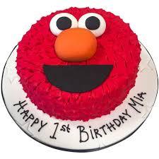 Elmo Cake 7495 Buy Online Free Uk Delivery New Cakes