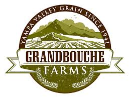 Grandbouche Farms. Yampa valley grain since 1941. Farm logo design ...