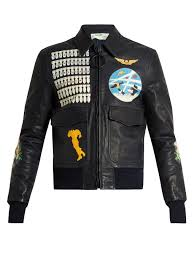 off white leather er jacket mens navy clothing coats and jackets off