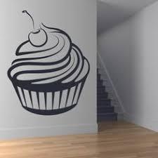 cherry cupcake wall art sticker wall decal on cupcake wall art stickers with 40 best birthday wall stickers images on pinterest birthday wall