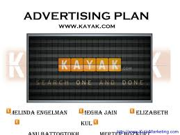 Advertising Plan Mesmerizing Kayak Advertising Strategy