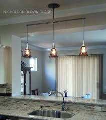 pendants transpa bell private residence kitchen pass through dark topaz with dichroic 8 h