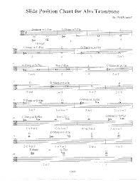Alto Trombone Slide Position Chart Qn8r5w6kr2l1