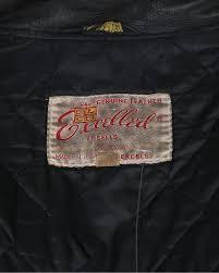vintage 70 s excelled leather biker jacket m