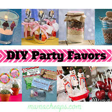 diy party favors collage