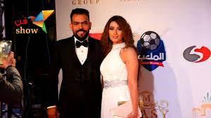 جمال زوجة خالد عليش يخطف الأنظار في مهرجان الأفضل - YouTube