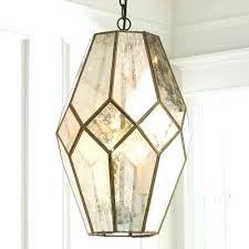 mercury glass lighting fixtures. Mesmerizing Mercury Glass Pendant Light 3 Milk Fixtures Lighting