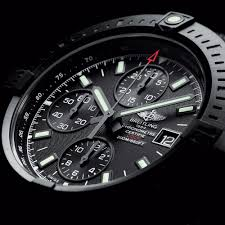 Into Watchtime and Watches Usa's Magazine Darkness Breitling 1 Flying No Watch Blacksteel New Diving Three -