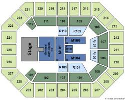 Us Cellular Center Tickets And Us Cellular Center Seating