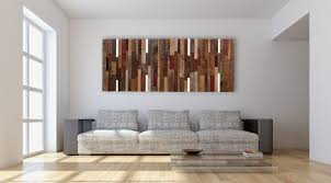 wall art ideas design white background reclaimed wood