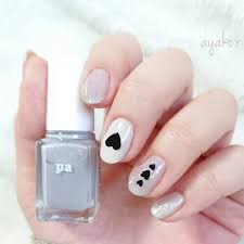 By At Ayakor Instagram Carousel Polishnails ラベンダーカラー