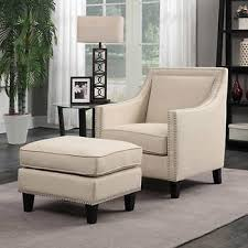 accent chair with ottoman. Emery Natural Accent Chair With Ottoman U