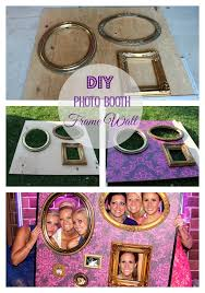 diy photo booth frame wall materials total