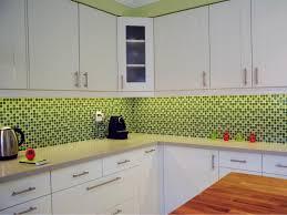 Green Tile Backsplash Kitchen Kitchen Green Tile Backsplash Kitchen