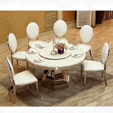 marble dining table from china. 10 seater marble top dining table with turntable large stainless steel fram send from china s