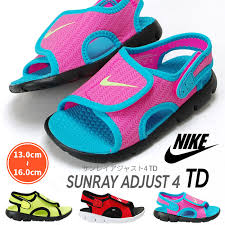 nike sandals for girls. nike nike sunray adjust 4 td386519 386521 kids sandals baby boys girls shoes for