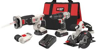 porter cable power tools. porter cable - 4 tool in one combo kit with soft case $199.00 power tools