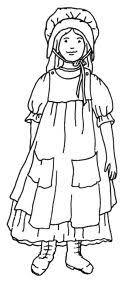 pioneer girl clipart. pin pioneer clipart boy #11 girl e