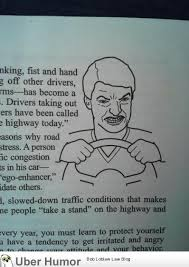 Rage Quotes Fascinating Road Rage Man In Driver's Ed Book Funny Pictures Quotes Pics