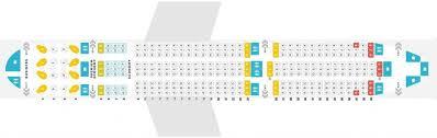boeing 787 seating plan air canada
