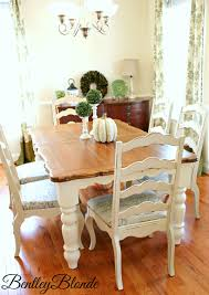 Farmhouse Table With Annie Sloan Chalk Paint Home Sweet Home