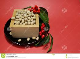 Japanese Setsubun Soybeans Of The Japanese Setsubun Festival 2 Stock Photo Image Of