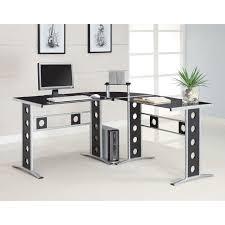 coaster shape home office computer desk. Coaster Shape Home Office Computer Desk A