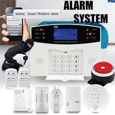 kinco diy wireless smart home security alarm systems kits dc12v 1a eu sos remote control