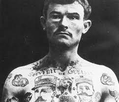 Tetování Vězňů často Odhalí Celý Jejich život Téma Lidovkycz