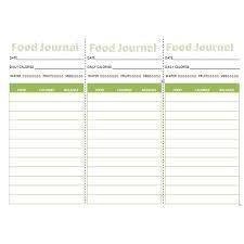Best Printable Food Journal Download Them Or Print