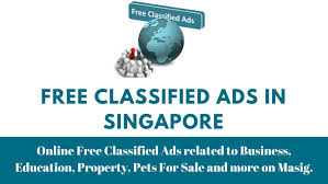 Free Classified Ads In Singapore On Masig By Masig Issuu