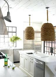 hanging basket light fixture great wicker pendant interior design