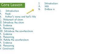 opinion essay structure university exam