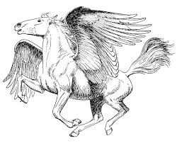 Small Picture Printable Pegasus Coloring Pages Coloring Me