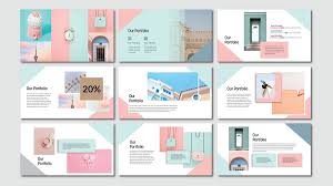 Powerpoint Bg Pink Pastel Free Powerpoint Template