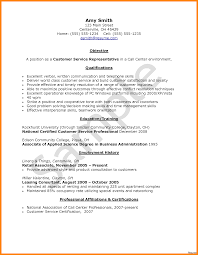 Call Center Consultant Resume Examples Best Sample For Agent Without