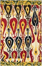 collection mesmerizing ikat area rug 8x10